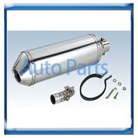 Wholesale China supplier stainless steel motorcycle Exhaust Muffler Universal