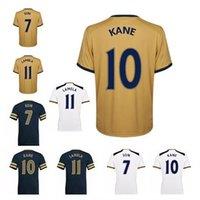 Wholesale 2016 jersey spursing Home White Tottenhames jerseys ERIKSEN Lamela Ador Spurss Football Shirts