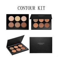 Wholesale 2016 Hot makeup contour kit colors face power palette Bronzers Highlighters options high quality
