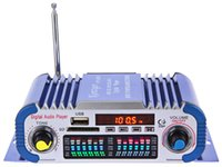 Wholesale Kentiger HY601 Channel Digital Auto Car Stereo Power Amplifier Hi Fi V Sound Mode LED Music Player Support USB MP3 DVD SD FM