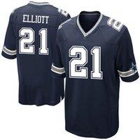 Wholesale Ezekiel Elliott Jersey Dallas Ezekiel Elliott Men s Stitched Embroidery Logos Football Jersey Mix Order M XL