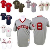 authentic mlb jerseys cheap - Cheap White Gray Carl Yastrzemski Authentic Jersey Men s Majestic MLB Boston Red Sox Flexbase Collection stitched s xl