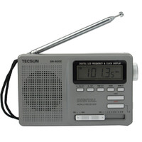 Wholesale TECSUN DR C Radio FM MW SW Band Radio Receiver Digital Radio Clock Alarm Backlight Y4139H