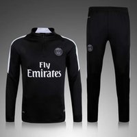 Wholesale new jogging survetement de football Best thailand quality Paris psg soccer Tracksuit kit Training suit sportswear