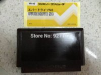 Wholesale everdrive n8 for Famicom flash cartridge color Plastic shell and Color sticker Do not include the motherboard