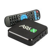 al por mayor el brazo de cuatro núcleos-A96 Android TV Box A96X Amlogic S905X Quad Core ARM Cortex A53 Android 6.0 1 / 8GB con Wifi 4K1080p Smart Box Televisión
