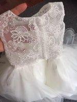 Wholesale The new back hollow out children s dress wedding dress girls princess princess dress dress flower girl dress