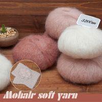 angora wool for knitting - 250g Yarn For Knitting Mohair Wool Knitting Soft Yarn Fingering Baby Crochet Yarn Knitting Threads Angora Of Crochet DIY Yarns