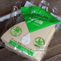 abaca fiber - Japan s SANYO MOLA ABACA Manila hemp thickened conical coffee filter fiber filter cup