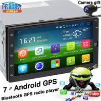 Wholesale JM_620 Android Universel Car DVD Din GPS DE VOITURE Radio Systerm Navigation Lecteur Livraison cartes P DH BT WIFI USB SD