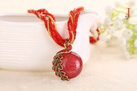 Wholesale Hot national wind necklace Restore ancient ways to act the role ofing is tasted The peacock pendant color WF02