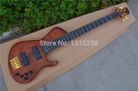 bass guitar frets - Custom Shop China Electric Bass Guitar String Frets Ebony Fingerboard Guitar Neck