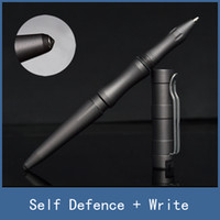 Wholesale Writing bodyguard tool for emergency self defense tactical pen with excellent broken Window survival girls defend Wolf attack cool stick pen