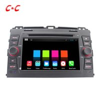 Wholesale 1024X600 Quad Core Android Car DVD Player for Toyota Prado with Radio GPS Navi Wifi DVR Mirror Link BT Free Gifts