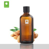 Wholesale 100ml Wild Almond oil pure therapeutic grade organic natural healing safety botanicals aromatherapy personal care oil