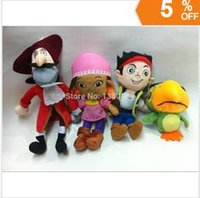 Wholesale jake and the neverland pirates of the Caribbean Jack fisher plush Soft toys doll cm cm