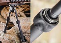 Wholesale 2016 New BT10 LW17 V8 Aluminum Black Atlas degrees Adjustable Precision Bipod ADM QD Mount For Rafile Hunting Mount R94