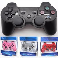 Wholesale Wireless Bluetooth Game Controller Gamepad for PS3 Game Controller Joystick for Android Video Games Colors with retail box