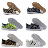 Wholesale Hot High Quality brand Men s Originals Superstar II sport Skate Shoes Women s Low Retro sneakers Size