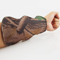 Wholesale Archery Arm Guard Camouflage Safety Hunting Shooting Archery Arm Guard Bow Protective Gear Straps MD0065