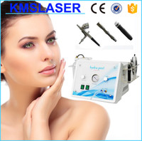 Wholesale 3 in Hydra peel Dermabrasion Machine diamond microdermabrasion beauty machine salon hydra facial and oxygen spray Equipment