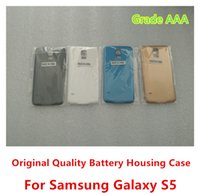 Wholesale High Quality Grade AAA for S5 Battery Housing Door Back Cover Case for Samsung Galaxy S5 SV i9600