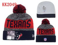 bamboo houston - 2016 Houston Beanies Winter High Quality Beanie For Men Texans beanie American Football Women Skull Caps Skullies Knit Cotton Hats