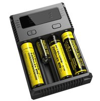 Wholesale new Nitecore I4 Intellicharger Universal e cig Charger for AA AAA Battery Nitecore Battery Chargers