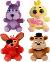 big bear kids - Five Nights At Freddy s FNAF Freddy Fazbear Bear Foxy Plush Toys Doll Fnaf
