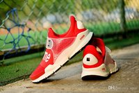 Wholesale Sock Dart SP Red Men s Trainers Sports Running Shoes Mens Shoe Size