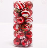 Wholesale 2016 Colorful cm Christmas Pendants Ball Christmas Pattern The Ball Party Decorations