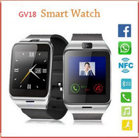 android gps data - GEAR2 GV18 NFC Aplus Smart Watch With touch Screen Camera Bluetooth NFC SIM GSM Phone Call U8 data sync Waterproof for Android Phone