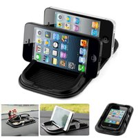 Wholesale Car Super Sticky Pad Anti Slip Mat for Phone Mp3 Mp4 Black Accessories