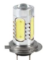 auto parts headlights - H7 Ultra bright Led Fog Light Car Headlight Bulb COB W V V Auto Parts Fog lights