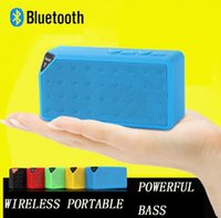 audio dock android - Bluetooth Wireless Speaker Subwoofer Water Cube Cube Mini Speaker Portable Handsfree Stereo HiFi Amplifier MP3 MP4 Player For Android IOS