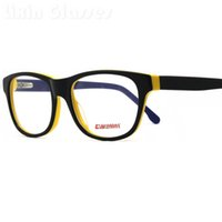 Wholesale New Colorful Young Cool Unisex Squared Fashion Design Glasses Frame Clean lens Acetate Eyeglasses Optical Eyewear BG24011