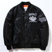 air force pilot uniform - winter and fall MA1 jacket embroidered jacket kanye west Air Force pilots baseball uniform thick male models female
