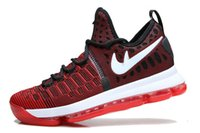 Wholesale New Styles Kds shoes basketball kd9 shoes woven basketball Sneakers Running shes basketball shoes men drop