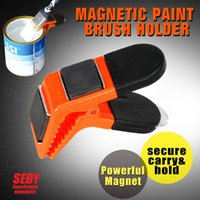 Wholesale Magnet Paint Brush Holder Strong Magnetic Clip Paint Tool Hand Tool