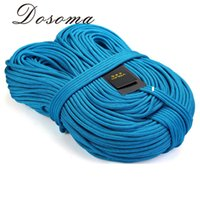 Wholesale 10M Professional Static Ropes KN mm Dupont Silk Cord Climbing Rope Outdoor Camping Climbing Rope Safety Rappelling Paracord