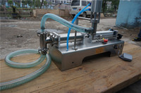 automatic water filler - Y1 stainless steel pneumatic liquid filling machine automatic filling machine water filler