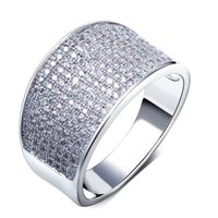 Wholesale DC1989 NewLook Office Lady Fashion Ring Made with aaa Cubic Zirconia Pave Setting Lead Free