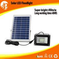 Wholesale Mini floodlight W lm LED Lamp solar led garden light