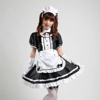 Wholesale Maid costume role playing cartoon Akihabara cosplay maid outfit Comic Costumes maid cosplay women girl lolita dress uniform