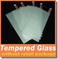 Wholesale 2 D MM H Tempered Glass Screen Protector Iphone Plus Iphone S Plus S S Samsung Galaxy S7 S6 S5 S4 Note