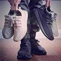 Wholesale New Released Y Boost Kanye West Shoes Men Women Outdoor Running Shoes Sneakers Oxford Tan Pirate Black Moonrock Turtle Doves