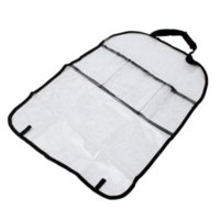Wholesale New Environmental PVC Car Back Seat Protector Organizer Cover Sticker For Travel Cheap stickers opel