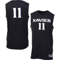 athletic sports apparel - NO Xavier Musketeers Men College Jersey Embroidery Athletic Outdoor Apparel Mens Sport Jerseys Size S XL
