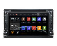 Wholesale NEW Android Capacitive Screen din New universal Car DVD Player with GPS Navigation Radio In dash Car PC Stereo Video