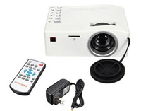 Wholesale high definition The latest ultra micro projector s unique UC18 Hd p video projector LED home projector Gift projector